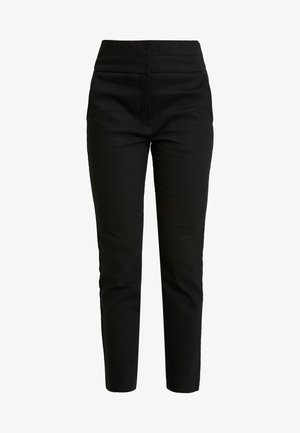 GEORGIA HIGH WAIST FULL LENGTH PANT - Pantalones - black