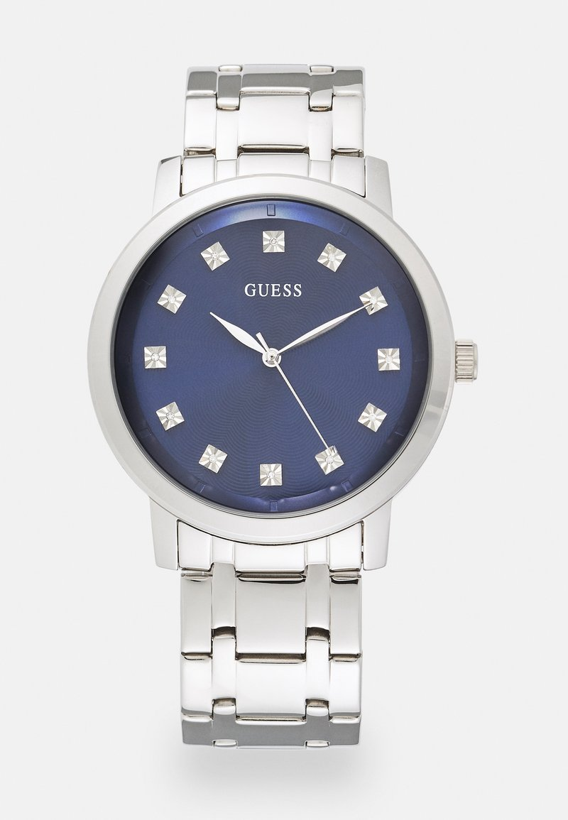Guess - UNISEX - Klokke - silver-coloured/blue