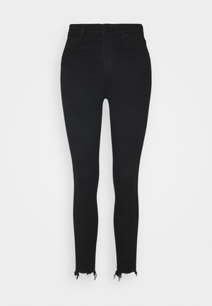 HIGH RISE ANKLE - Jeans Skinny Fit - black