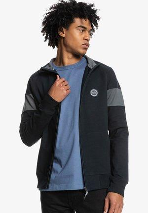 MYSTIC - Zip-up sweatshirt - black