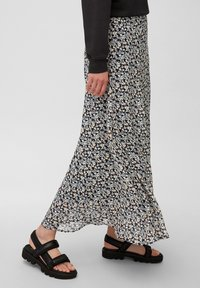 Marc O'Polo - A-line skirt - blue / red / beige - 3