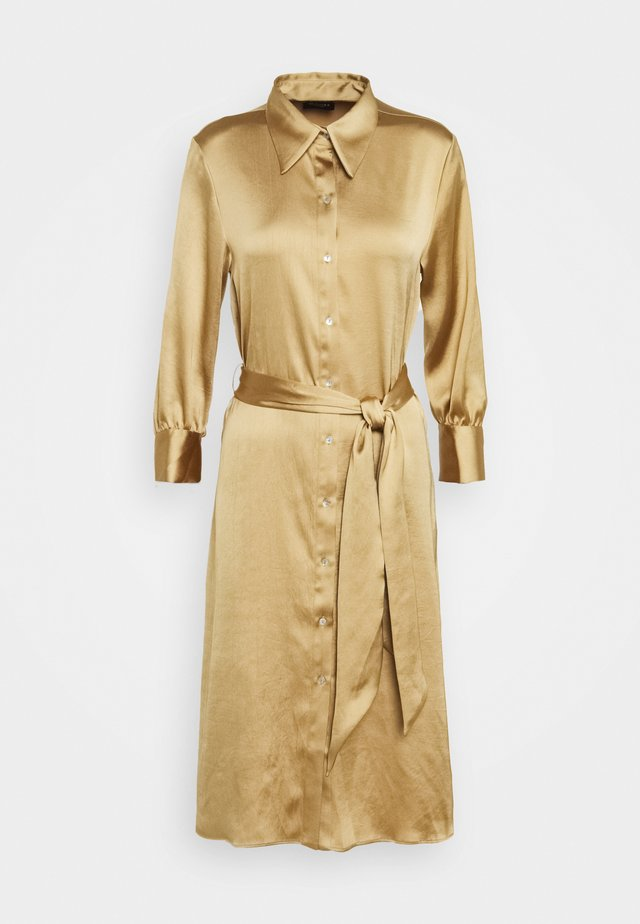 HEDVIG - Shirt dress - camel