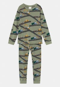 Lindex - VEICHLES - Pijama - dusty green - 0