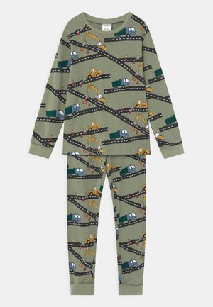 VEICHLES - Pyjama set - dusty green