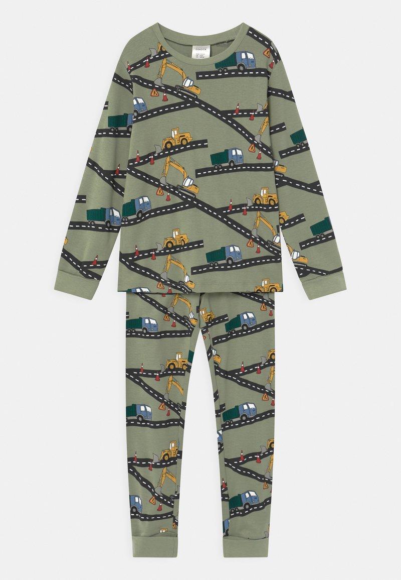 Lindex - VEICHLES - Pijama - dusty green
