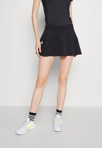 adidas Performance - MATCH SKIRT - Sports skirt - black/white - 0