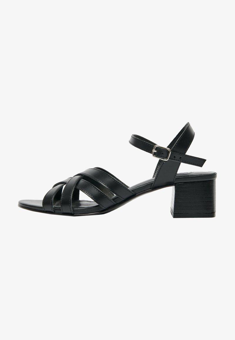 White Sun - ERELL  - Sandals - black