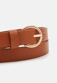 Even&Odd - 2 PACK - Belt - black/cognac - 2