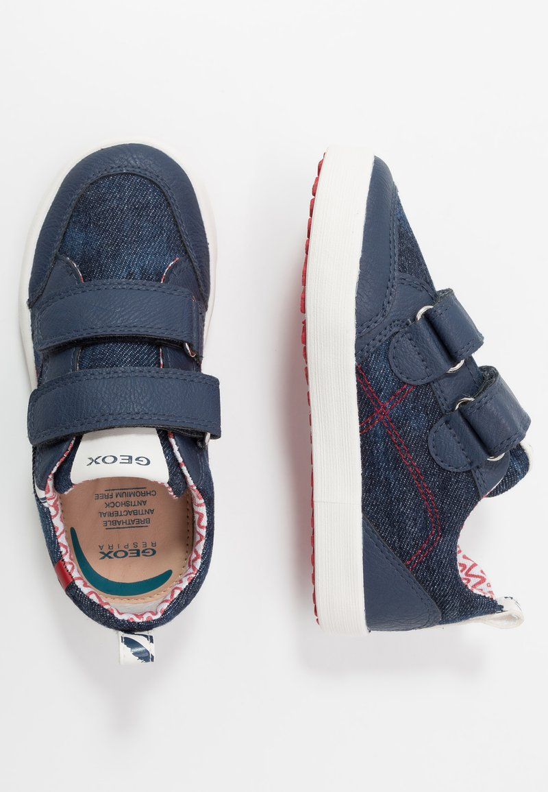 Geox - KILWI - Trainers - blue/red