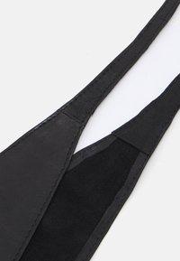 Pieces - PCVIBS LEATHER TIE WAIST BELT - Pásek - black - 2