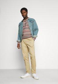 Solid - SDPEYTON - Denim jacket - light vintage blue denim - 1