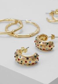 Pieces - Korvakorut - gold-coloured - 4