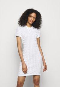 Polo Ralph Lauren - Jumper dress - white - 0
