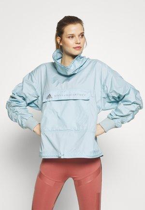 TECH SWEATER - Sportovní bunda - blue