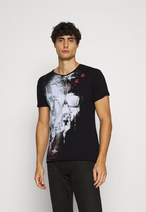 REPORT - T-Shirt print - black
