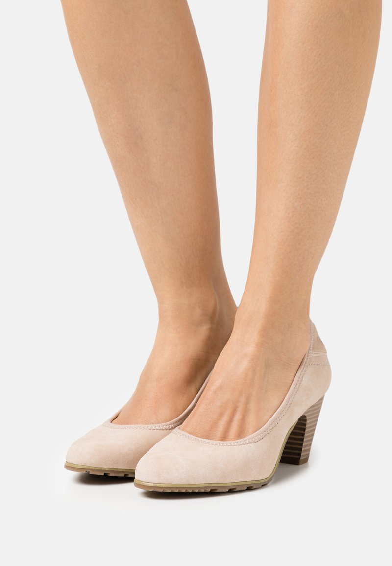 s.Oliver - Classic heels - sand