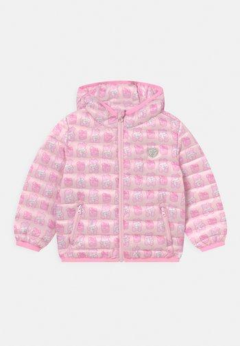 PADDED HOOD UNISEX - Winterjas - pink