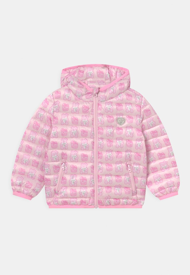 Guess - PADDED HOOD UNISEX - Winter jacket - pink