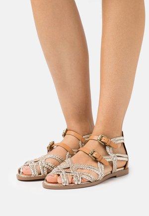 KATIE - Sandals - vigor lame