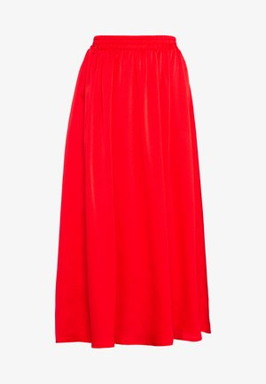 KADAIMI SKIRT - Maxi skirt - high risk red