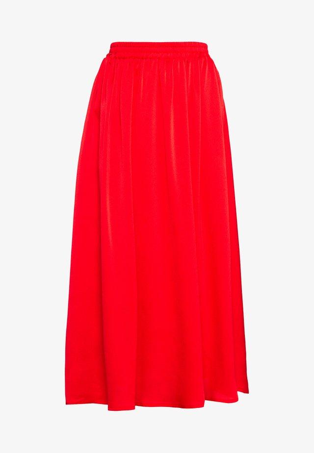 KADAIMI SKIRT - Maxi sukně - high risk red