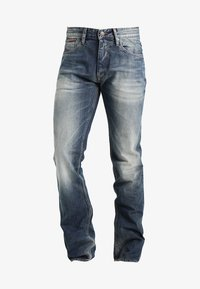 Tommy Jeans - ORIGINAL RYAN PEB - Džíny Straight Fit - penrose blue - 6