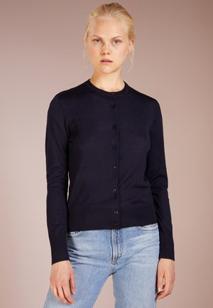 SHORT CARDIGAN - Cardigan - navy