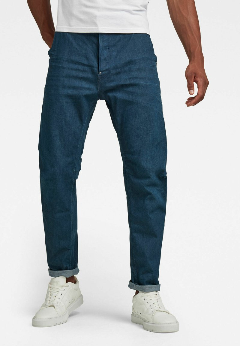 G-Star - GRIP 3D RELAXED TAPERED - Relaxed fit jeans - d raw denim