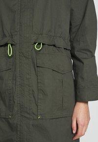edc by Esprit - SOLID - Parka - khaki green - 5