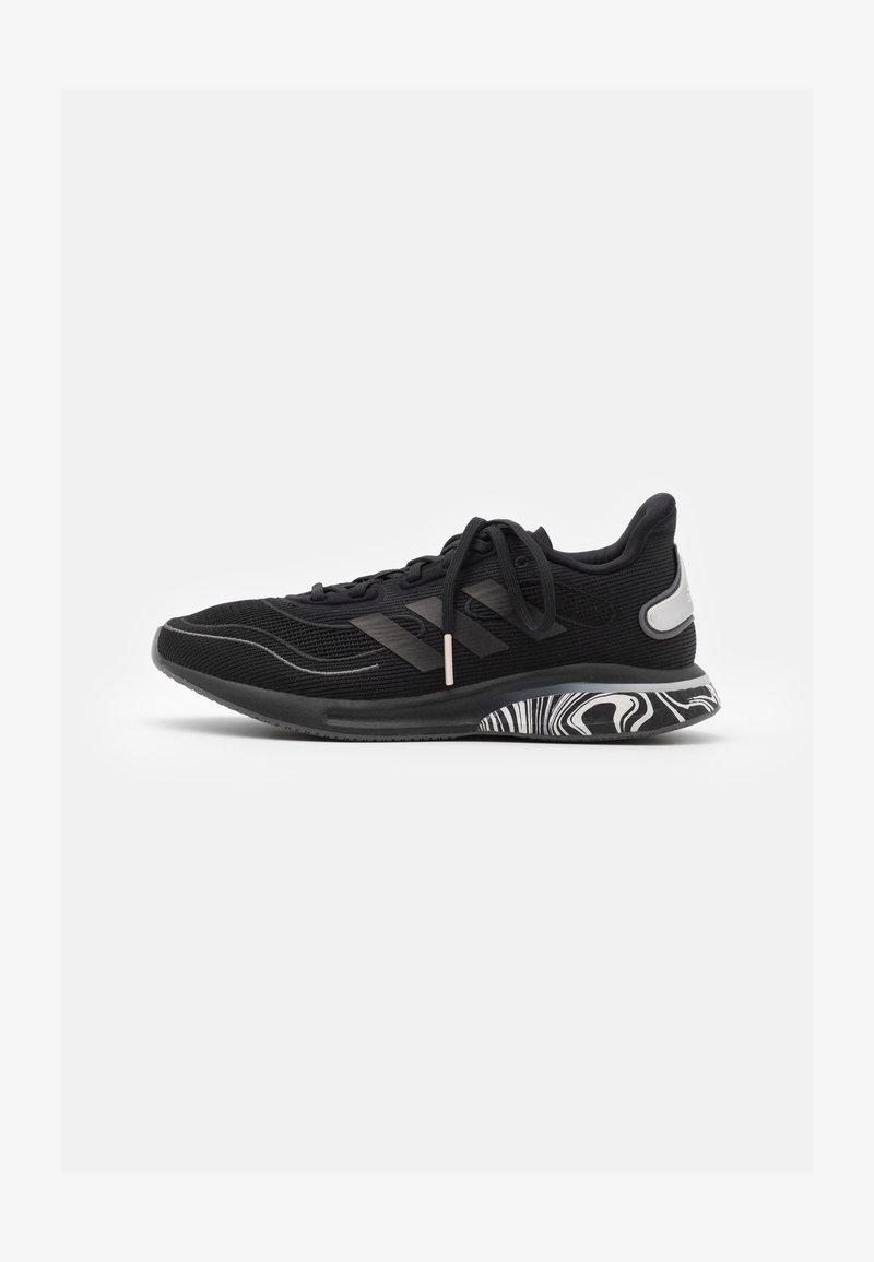 adidas Performance - SUPERNOVA BOOST PRIMEGREEN RUNNING SHOES - Neutral running shoes - core black/pink tint