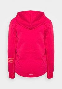 adidas Performance - Zip-up hoodie - power pink/signal pink - 4