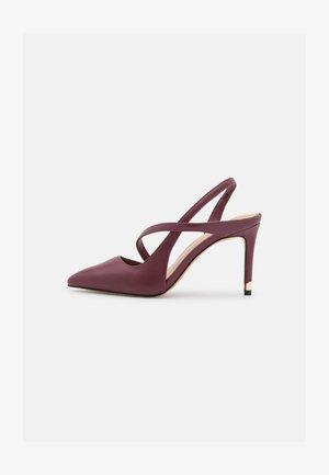 NOIDEAA - Classic heels - bordo