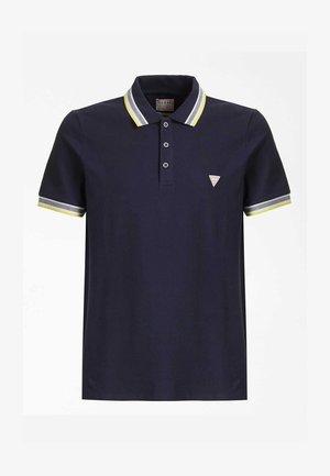 GRADY SS POLO - Polo shirt - blu scuro