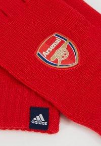 adidas Performance - ARSENAL LONDON FC GLOVES - Brankářské rukavice - scarlet/collegiate navy/white - 5
