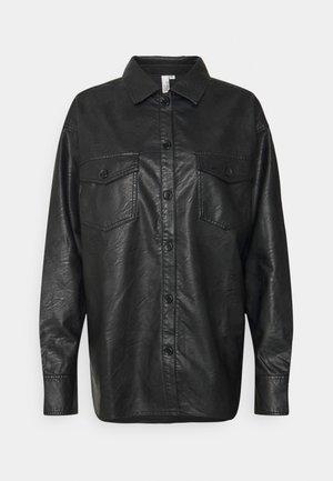 CRINKLE SHIRT - Košile - black