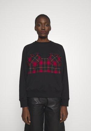 CHECK - Sweatshirt - black