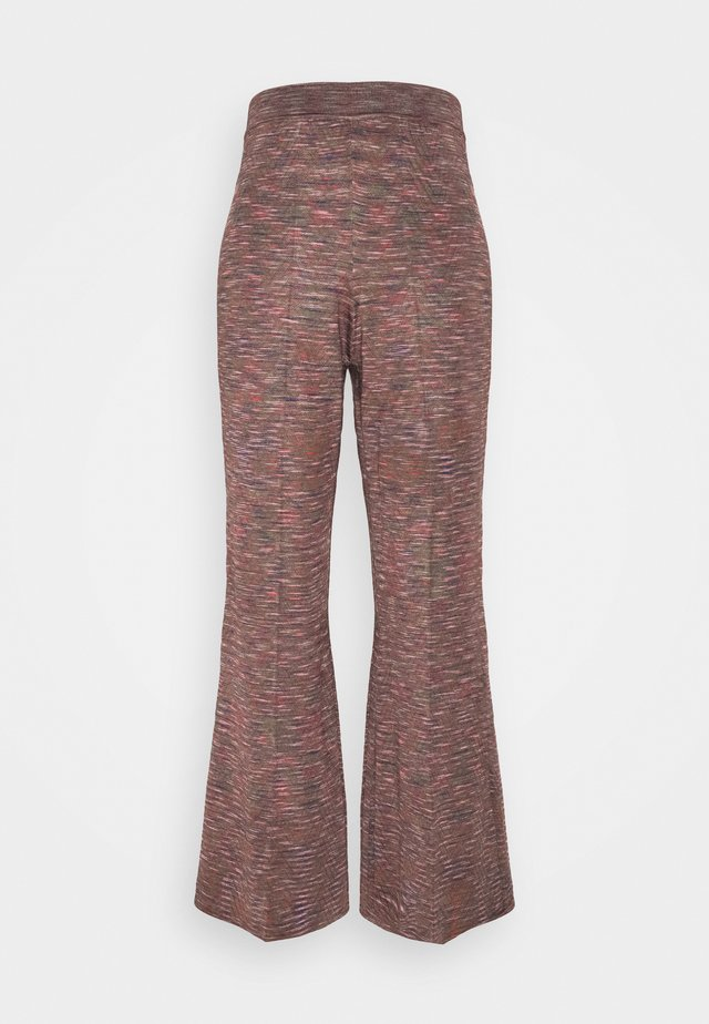 PANTALONE - Trousers - black/multicolor