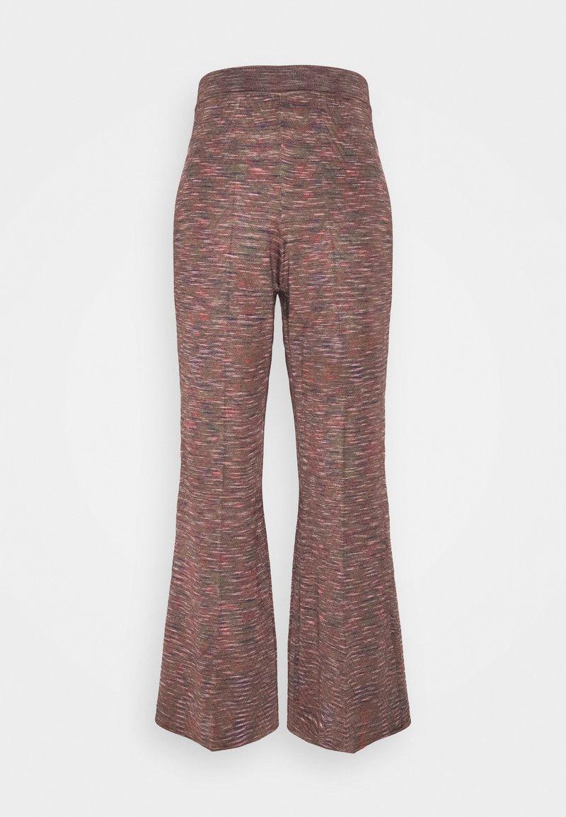 M Missoni - PANTALONE - Trousers - black/multicolor