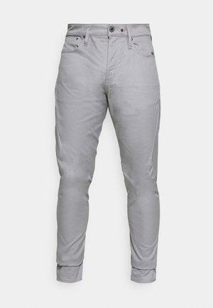 SCUTAR 3D SLIM TAPERED - Pantaloni - bracket stretch twill charcoal