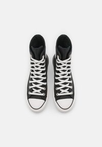 Converse - CHUCK TAYLOR ALL STAR LIFT  - High-top trainers - black/white - 4