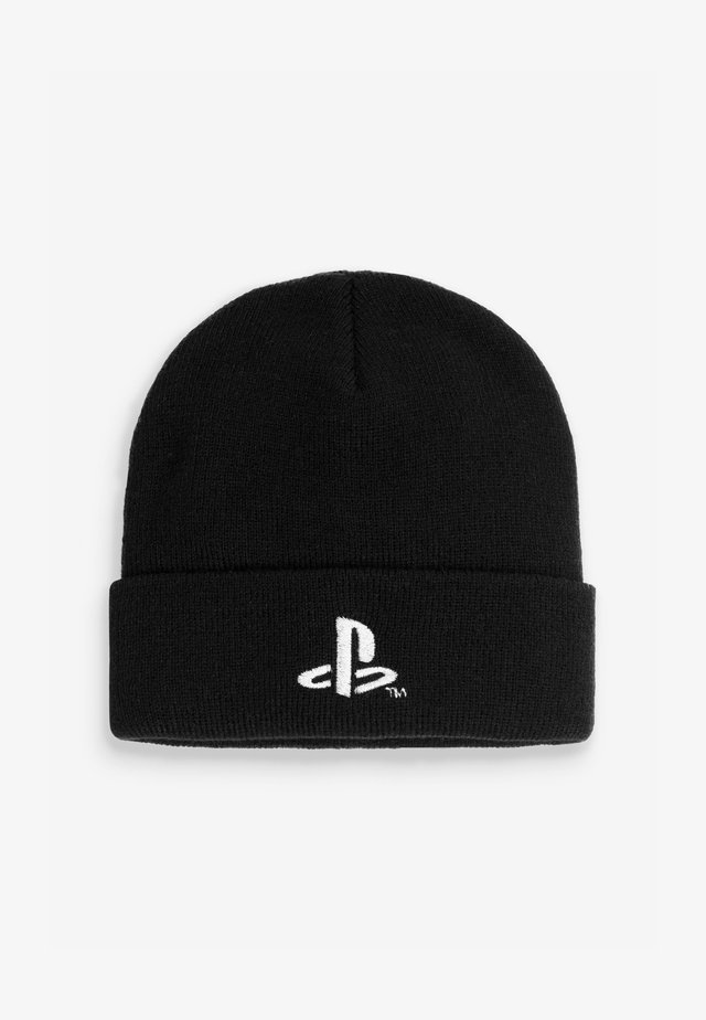 PLAYSTATION BEANIE - Čepice - black