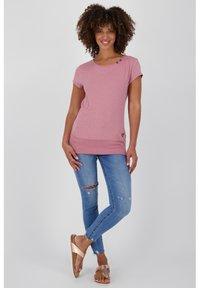 alife & kickin - Print T-shirt - lavender - 1
