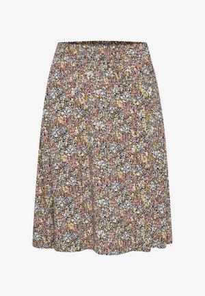 GISLASZ - A-line skirt - ice multi ditsy