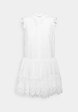 DRESS - Košilové šaty - new white