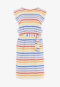 Sugarhill Brighton - HETTY SUNSET STRIPE - Jersey dress - white - 4