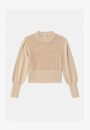 CIKKY PUFF  - Strickpullover - cream