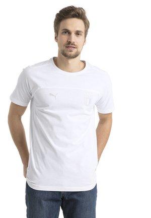 FIGC MEN'S TEE MÄNNER - T-shirt med print - white
