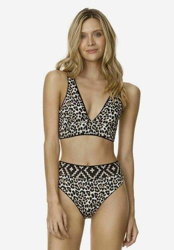 ORCHID PARADIZZIA - Bikini top - black
