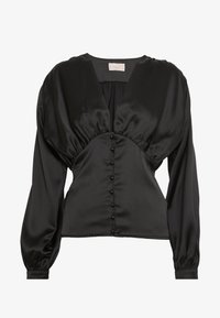 Club L London - BUTTON FRONT BLOUSE - Bluser - black - 3