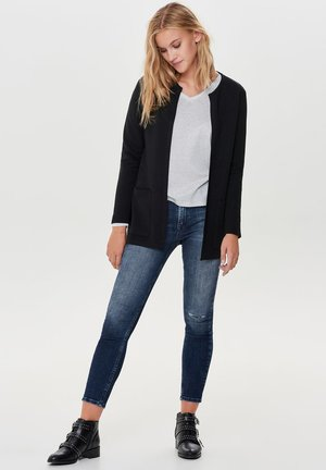 JDYSAGA NEW LONG CARDIGAN - Cardigan - black
